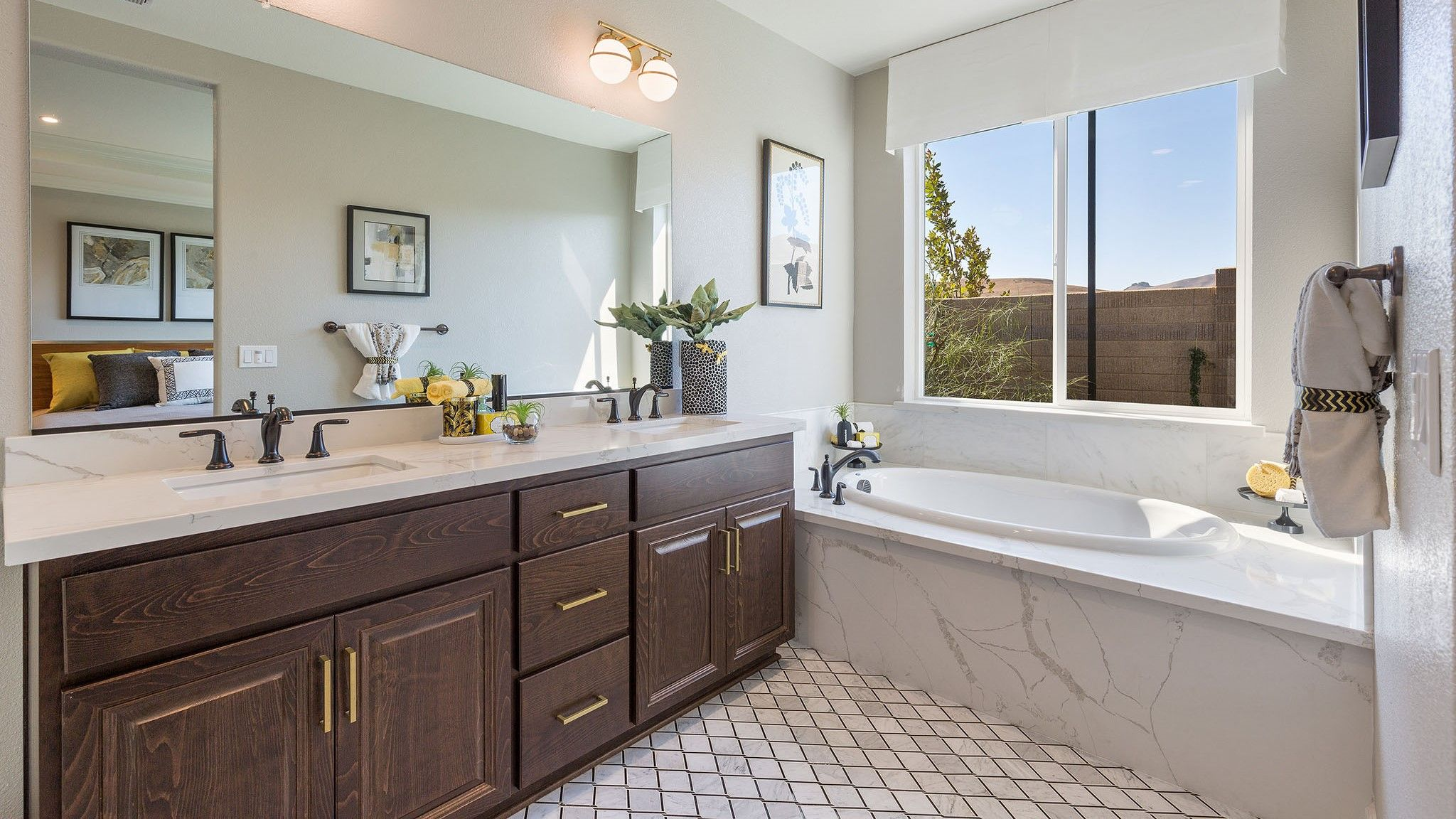 Bathroom featured in the Adley By Seeno Homes in Vallejo-Napa, CA
