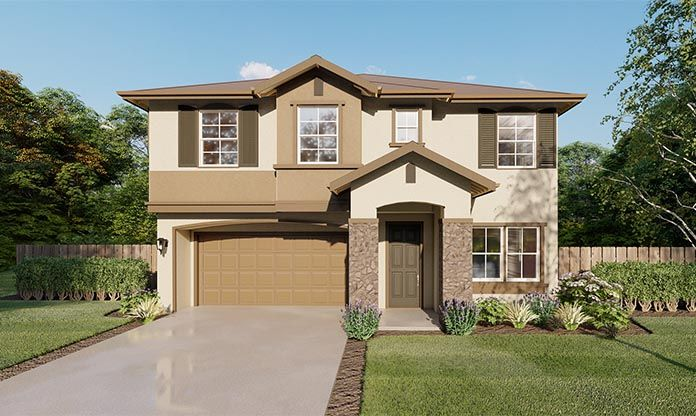 Exterior featured in the Arroyo By Seeno Homes in Sacramento, CA