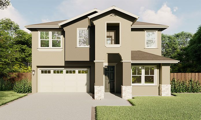 Exterior featured in the Bianco By Seeno Homes in Oakland-Alameda, CA