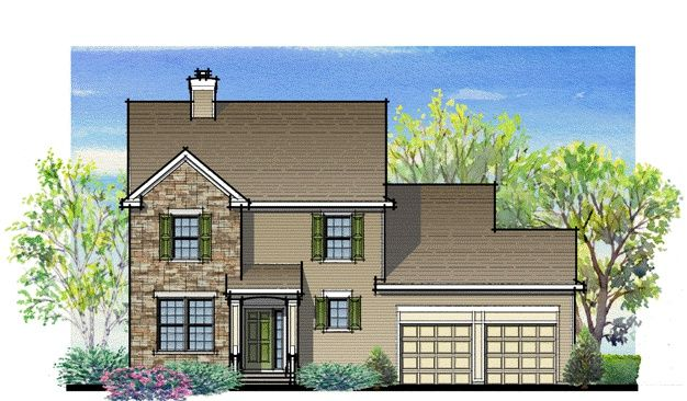 Exterior featured in the Plan A Traditional Series By Segal & Morel in Poconos, PA