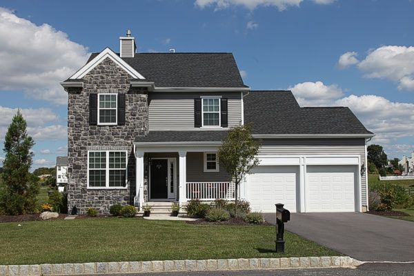Exterior featured in the Plan A First Floor Master Easy Living Series By Segal & Morel