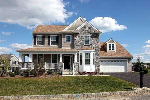 Exterior featured in the Plan 9 Easy Living Series By Segal & Morel in Allentown-Bethlehem, PA