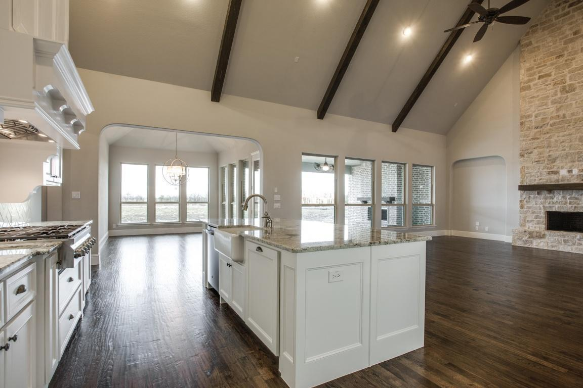 Kitchen featured in the Fairfield - SH 9306 By Shaddock Homes in Dallas, TX