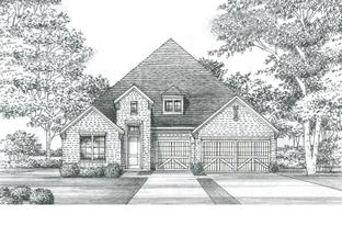 Bowie - SH 5412 - Estates at Rockhill - Phase 3: Little Elm, Texas - Shaddock Homes