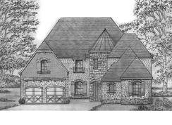 Graham - SH 6232 - Edgestone at Legacy: Frisco, Texas - Shaddock Homes