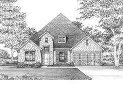 Bowie - 5412 PS - Lakewood at Brookhollow - 74' Lots: Prosper, Texas - Shaddock Homes