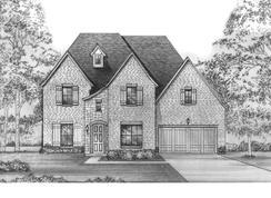 Ames - SH 5254 - Estates at Shaddock Park: Frisco, Texas - Shaddock Homes