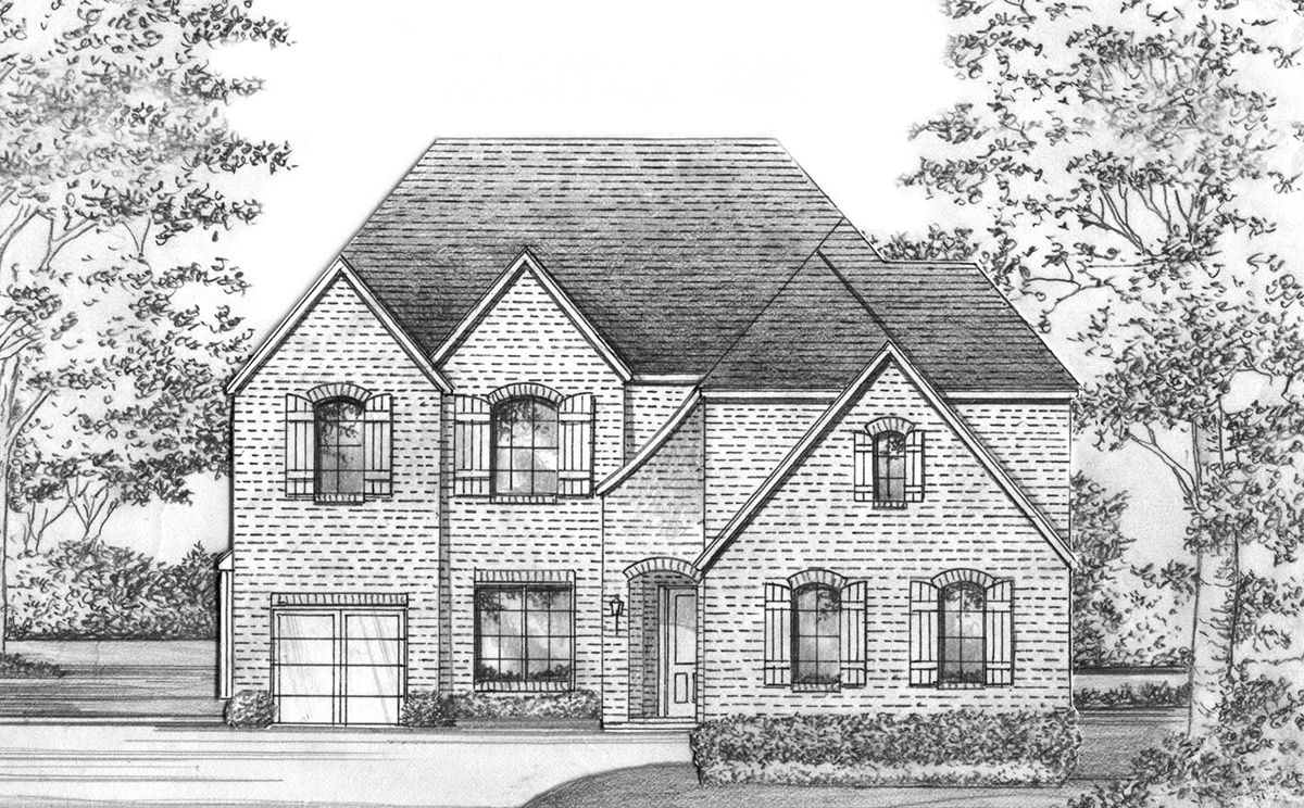Exterior featured in the Boyd - SH 5230 By Shaddock Homes in Dallas, TX