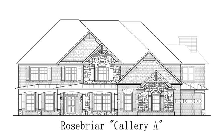 Rosebriar:Gallery A Elevation