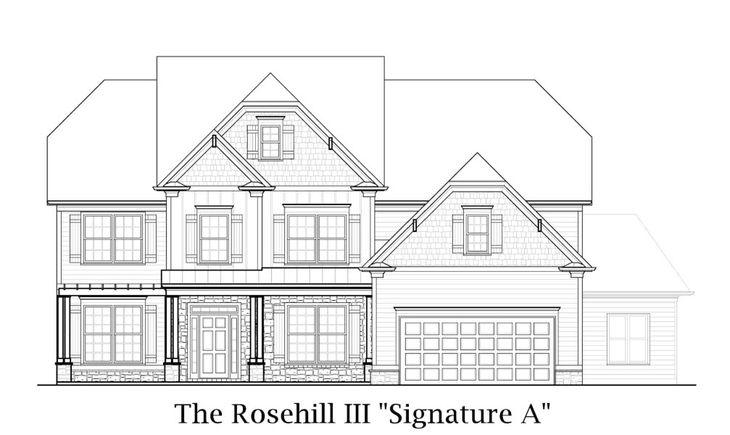 Rosehill III:Signature A Elevation