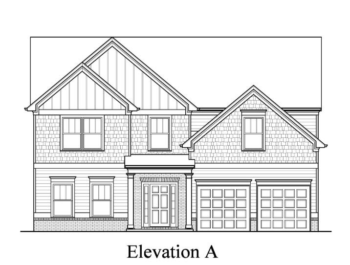 Springfield:Elevation A