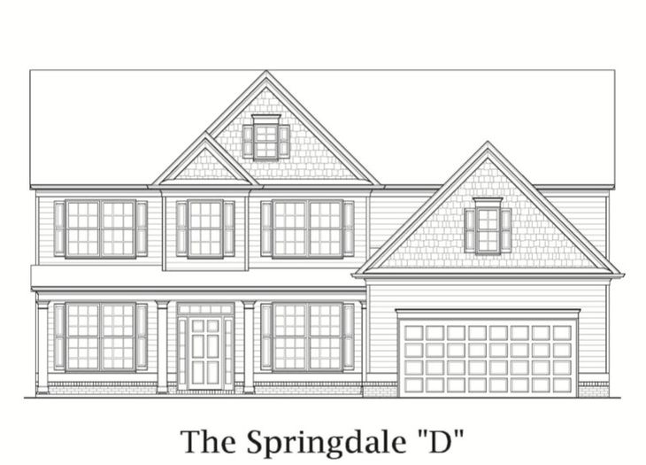Springdale:Elevation D