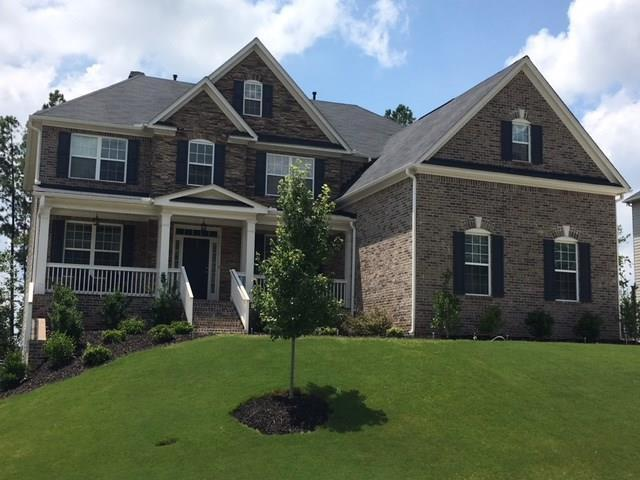 Exterior:Sample photo of Rosehill III U Elevation.  Home currently under Construction
