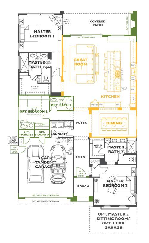 Create Plan, San Tan Valley, Arizona 85140 - Create Plan at Encanterra, a  Trilogy Resort Community by Shea Homes - Trilogy