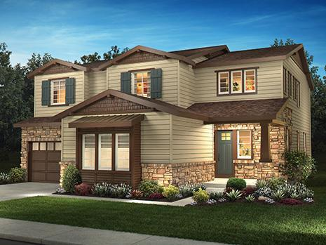 Elevation A - Traditional Craftsman