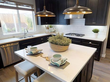 Kitchen-in-Beach House Plan 1-at-Beach House at The Dunes-in-Marina