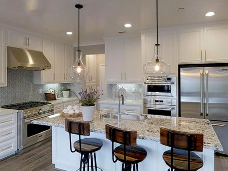 Kitchen-in-Beach House Plan 3-at-Beach House at The Dunes-in-Marina