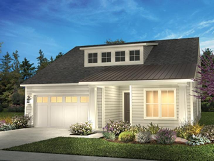 Elevation Modern Cottage