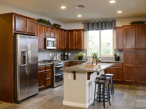 Kitchen-in-Optic-at-Trilogy at Vistancia-in-Peoria