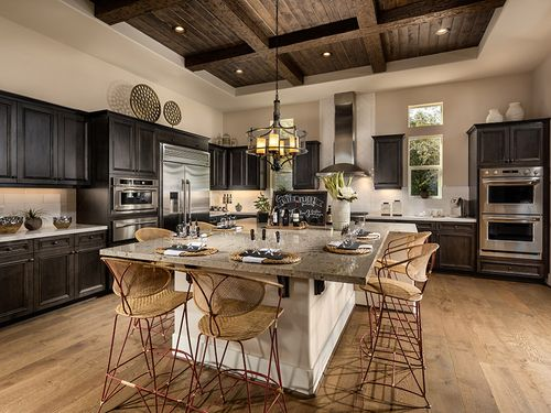 Kitchen-in-Dolcetto-at-Trilogy at Monarch Dunes and Monarch Ridge Town Homes-in-Nipomo
