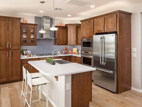 Kitchen-in-Avaton-at-Encanterra, a Trilogy Resort Community-in-San Tan Valley