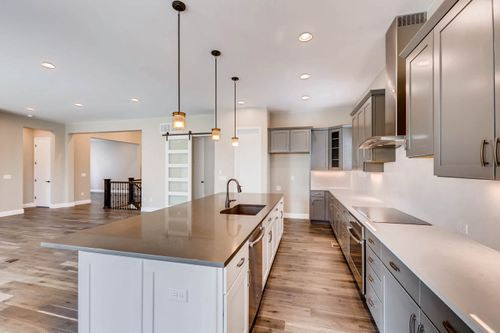 Kitchen-in-5223 - Coulter Pine-at-Whispering Pines - Woodlands Collection-in-Aurora