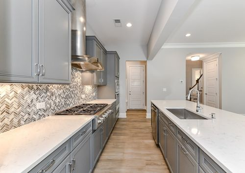 Kitchen-in-Hawthorne-at-Towns at Tindall Park-in-Charlotte