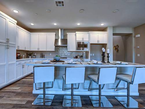 Kitchen-in-Reflect-at-Trilogy in Summerlin-in-Las Vegas
