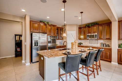 Kitchen-in-4506 Skydance-at-BackCountry - Shadow Walk Collection-in-Highlands Ranch