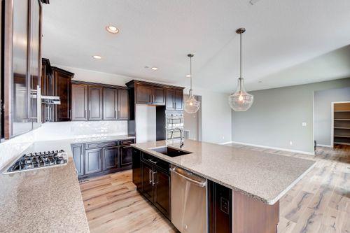 Kitchen-in-Plan 402-at-Erie - Shea3D™ at Colliers Hill-in-Erie