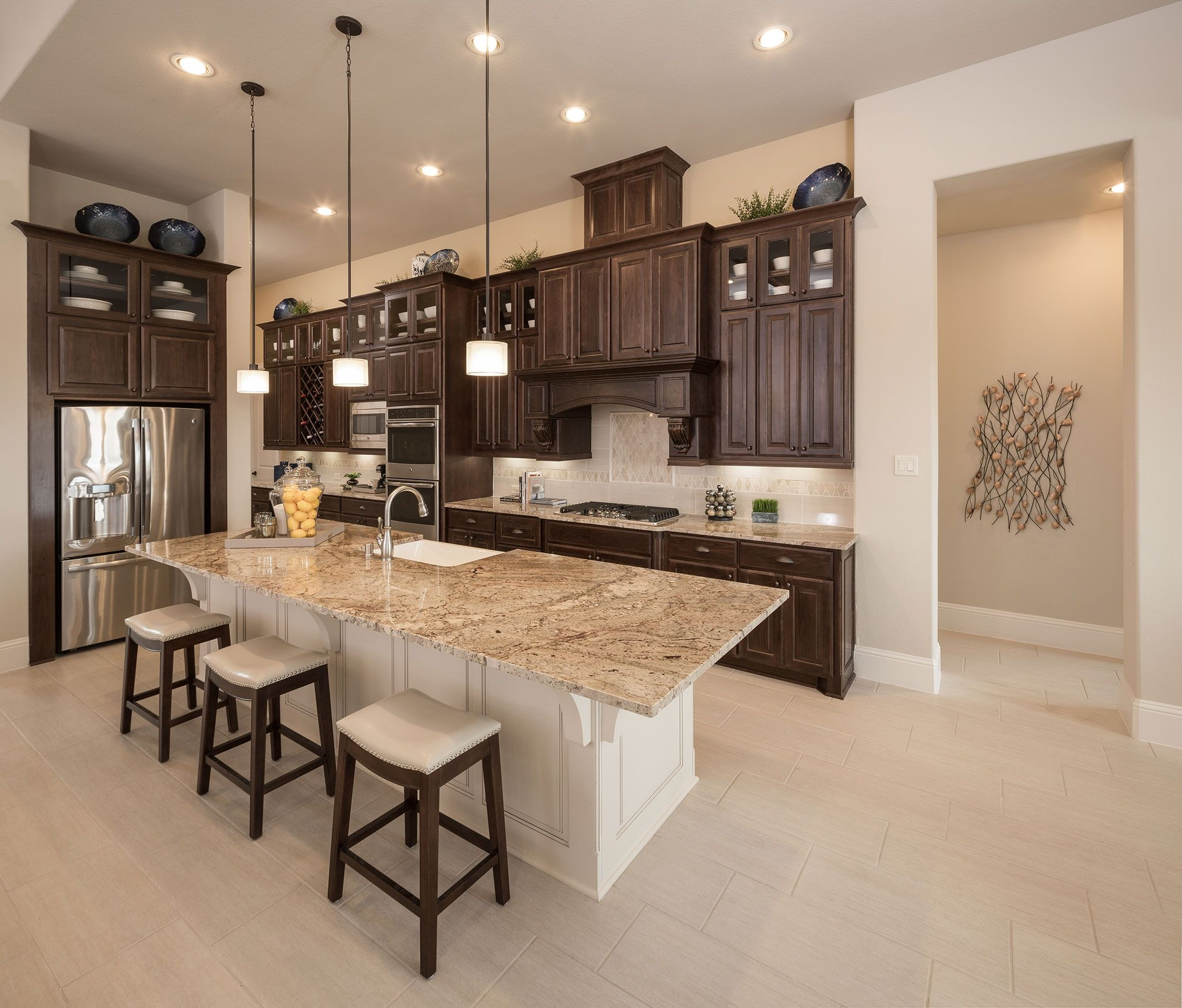 Kitchen-in-Plan 6015-at-Cane Island-in-Katy