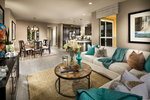 Greatroom-and-Dining-in-Acacia-at-Trilogy at Monarch Dunes and Monarch Ridge Town Homes-in-Nipomo