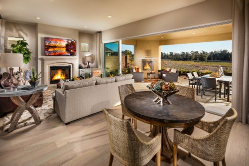 Greatroom-and-Dining-in-Avila-at-Trilogy at Monarch Dunes and Monarch Ridge Town Homes-in-Nipomo