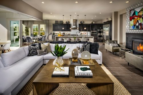 Greatroom-and-Dining-in-Carmel-at-Trilogy at Monarch Dunes and Monarch Ridge Town Homes-in-Nipomo