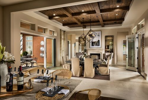 Greatroom-and-Dining-in-Dolcetto-at-Trilogy at Monarch Dunes and Monarch Ridge Town Homes-in-Nipomo