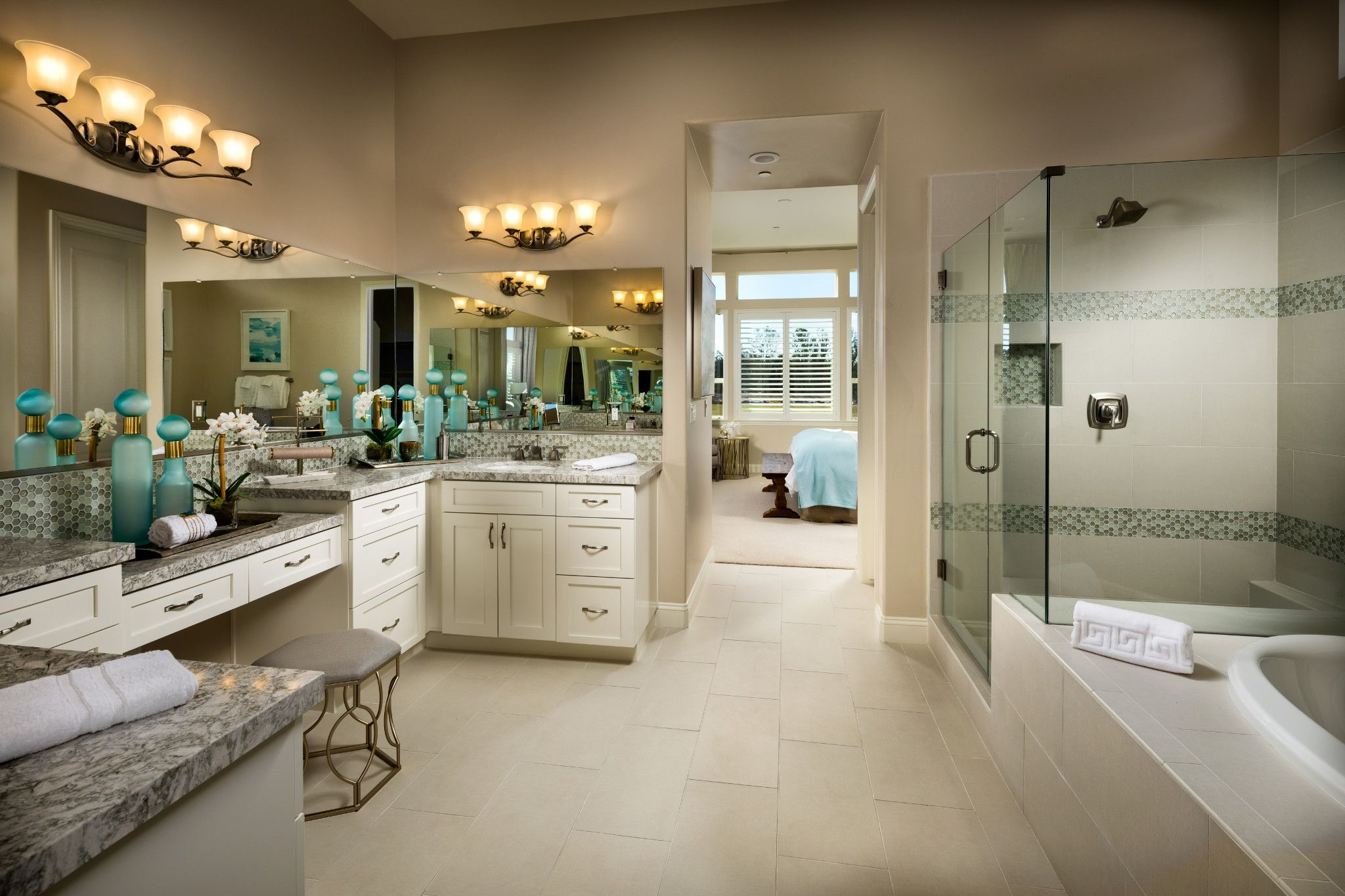 Bathroom featured in the Marsanne By Shea Homes - Trilogy in San Luis Obispo, CA