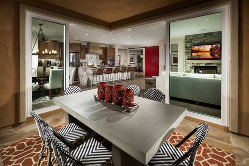 Greatroom-and-Dining-in-Monterey-at-Trilogy at Monarch Dunes and Monarch Ridge Town Homes-in-Nipomo