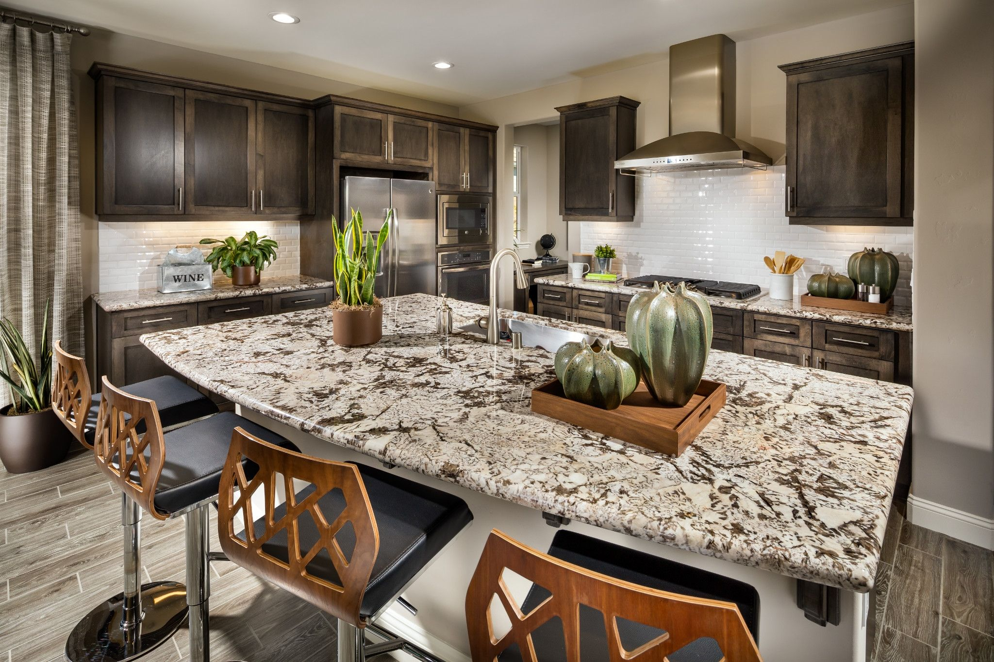Kitchen-in-Ojai-at-Trilogy® at Monarch Dunes and Monarch Ridge Town Homes-in-Nipomo