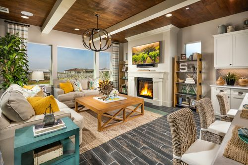 Greatroom-and-Dining-in-Ventana-at-Trilogy at Monarch Dunes and Monarch Ridge Town Homes-in-Nipomo
