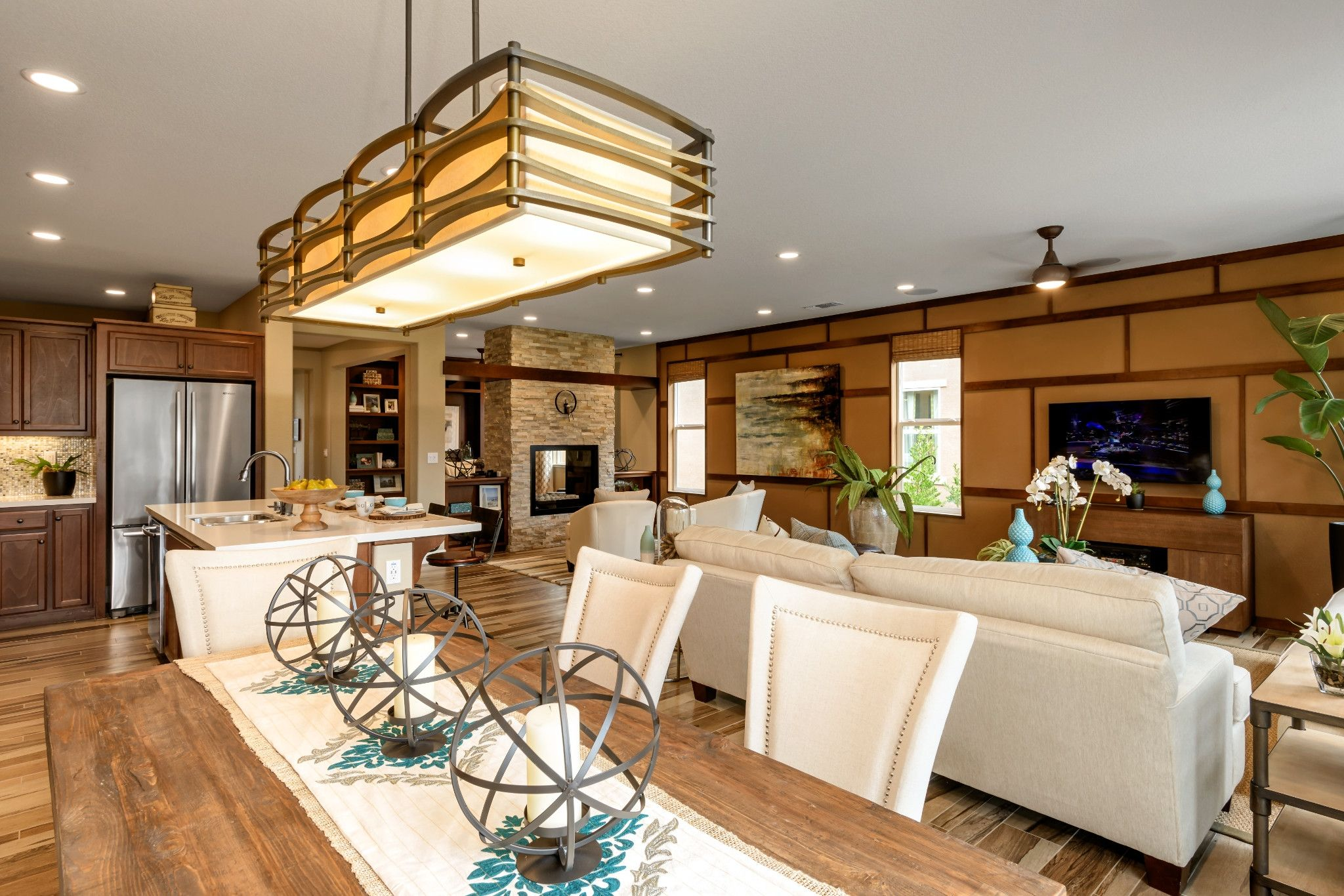 Greatroom-and-Dining-in-Reflect-at-Trilogy® at Rio Vista-in-Rio Vista