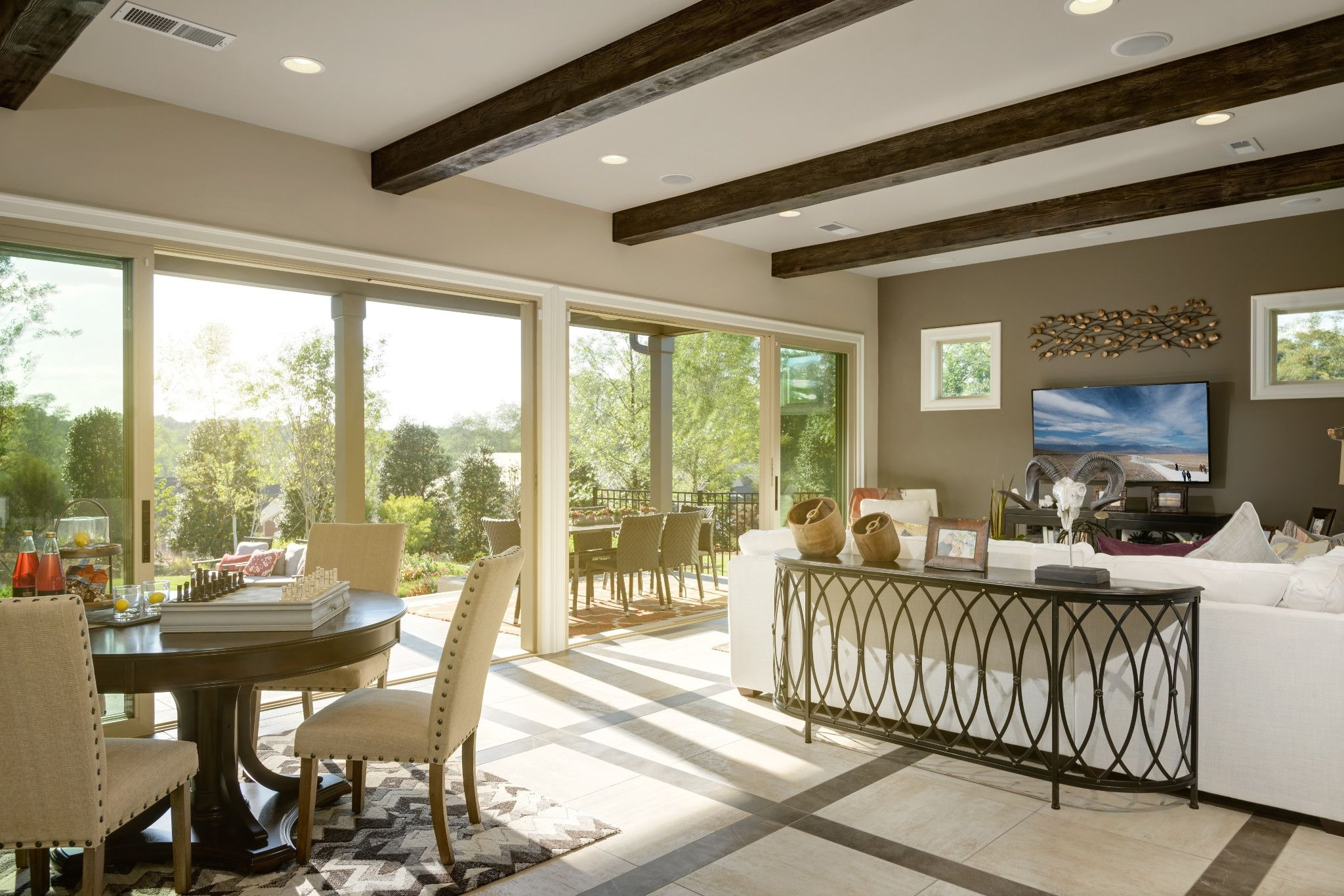Greatroom-and-Dining-in-Balsam-at-Trilogy® Lake Norman-in-Denver