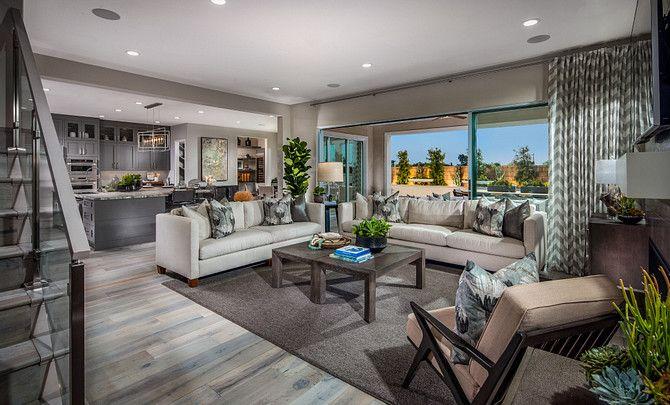 Parkside Estates Plan 3 Great Room:Plan 3 Great Room