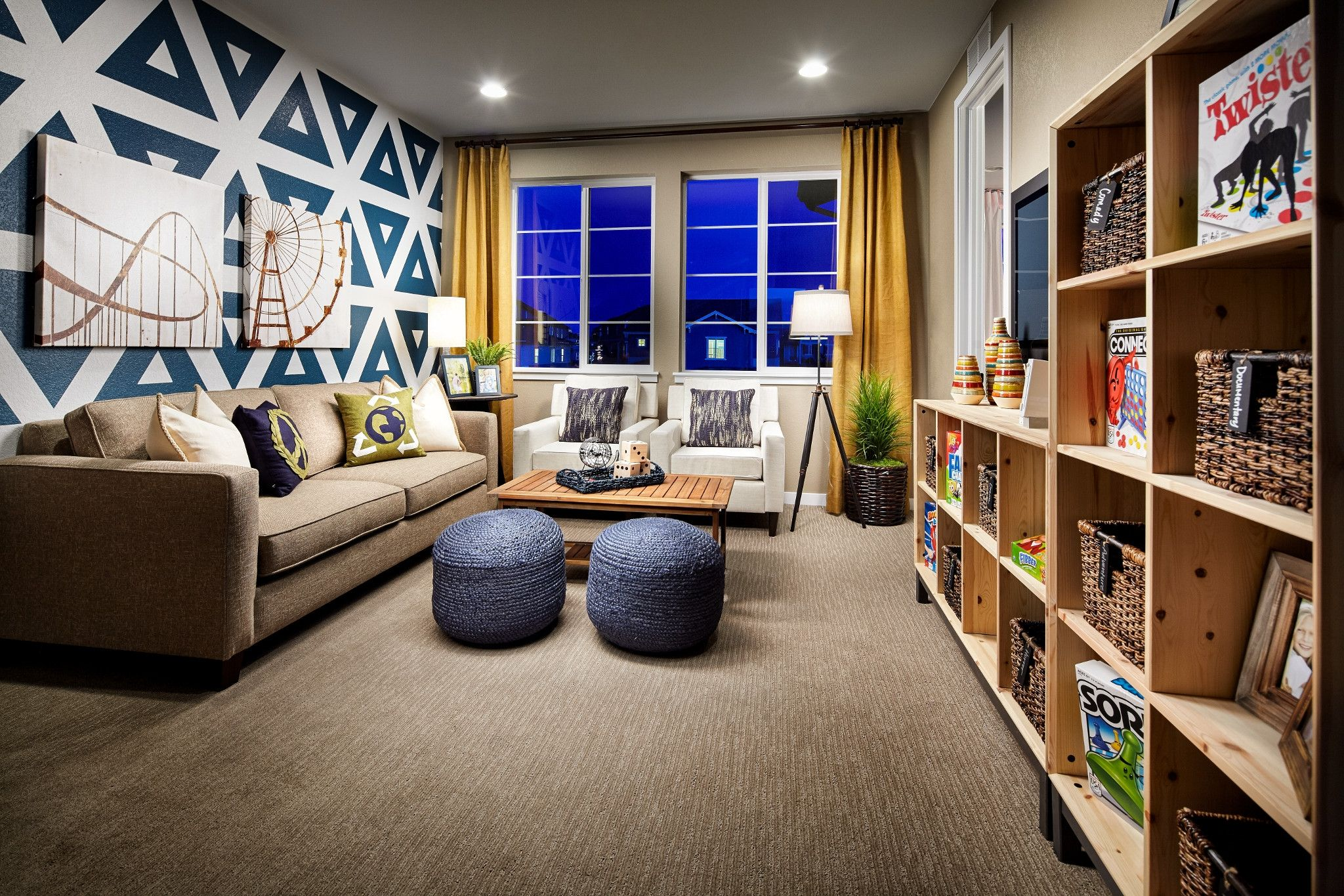 Living Area featured in the 5204  Torrey Pine By Shea Homes in Denver, CO