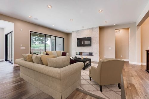Greatroom-and-Dining-in-5223 - Coulter Pine-at-Whispering Pines - Woodlands Collection-in-Aurora