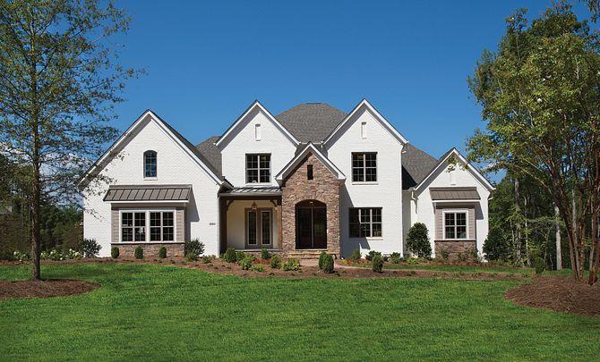 Grayson plan exterior:Grayson Model Home