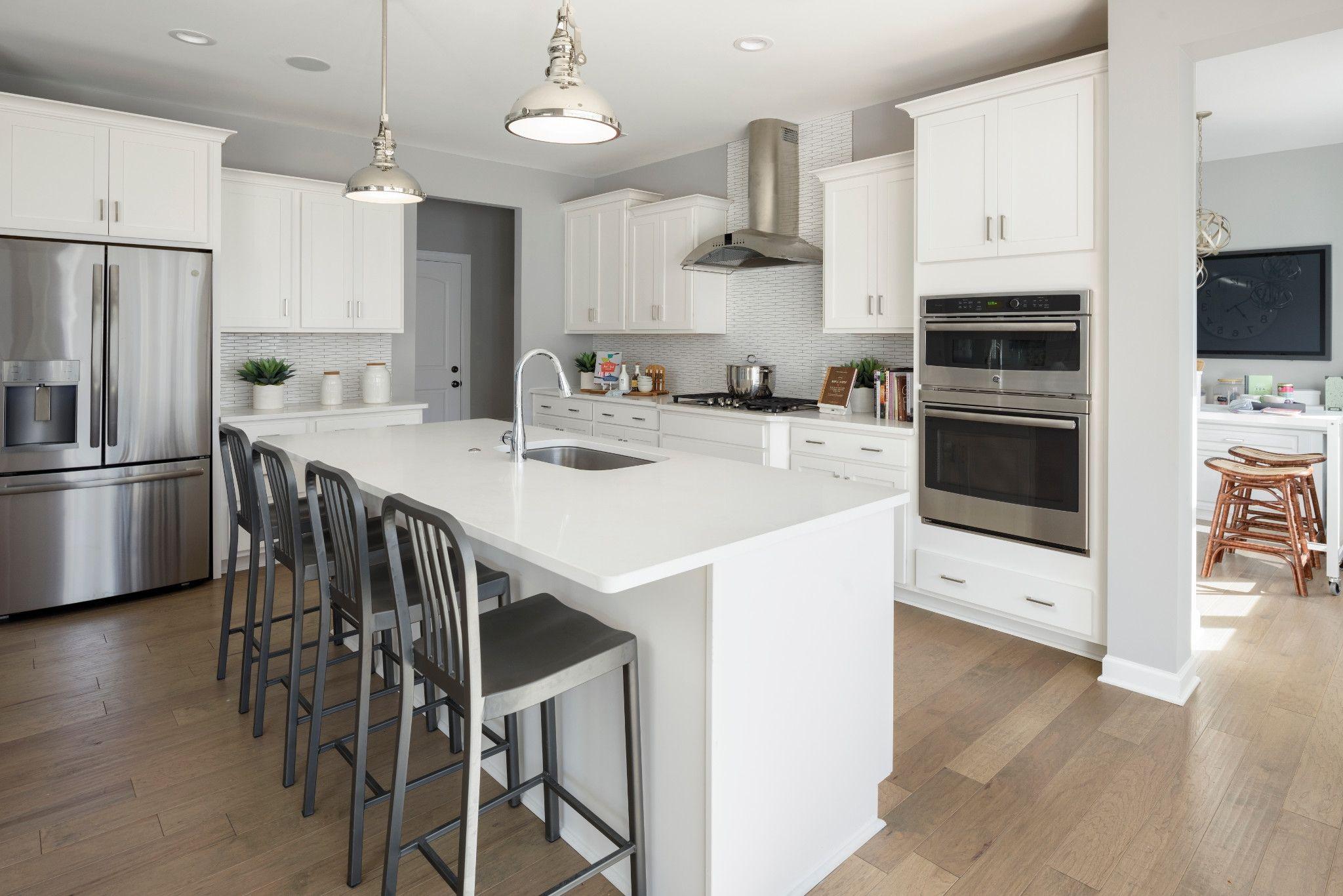 Kitchen-in-Cambridge-at-Sagewood-in-Matthews