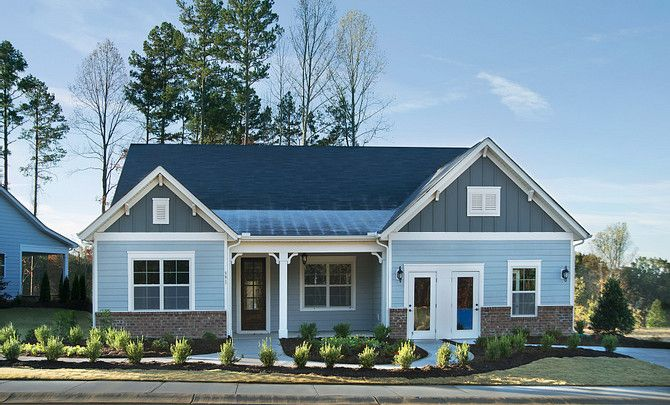 Everett Model Home Exterior:Everett Model Home