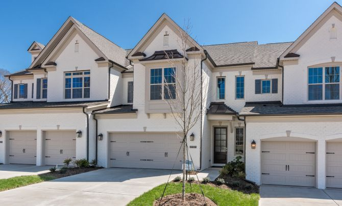 Tindall Park Exterior Townhomes:Tindall Park Townhomes