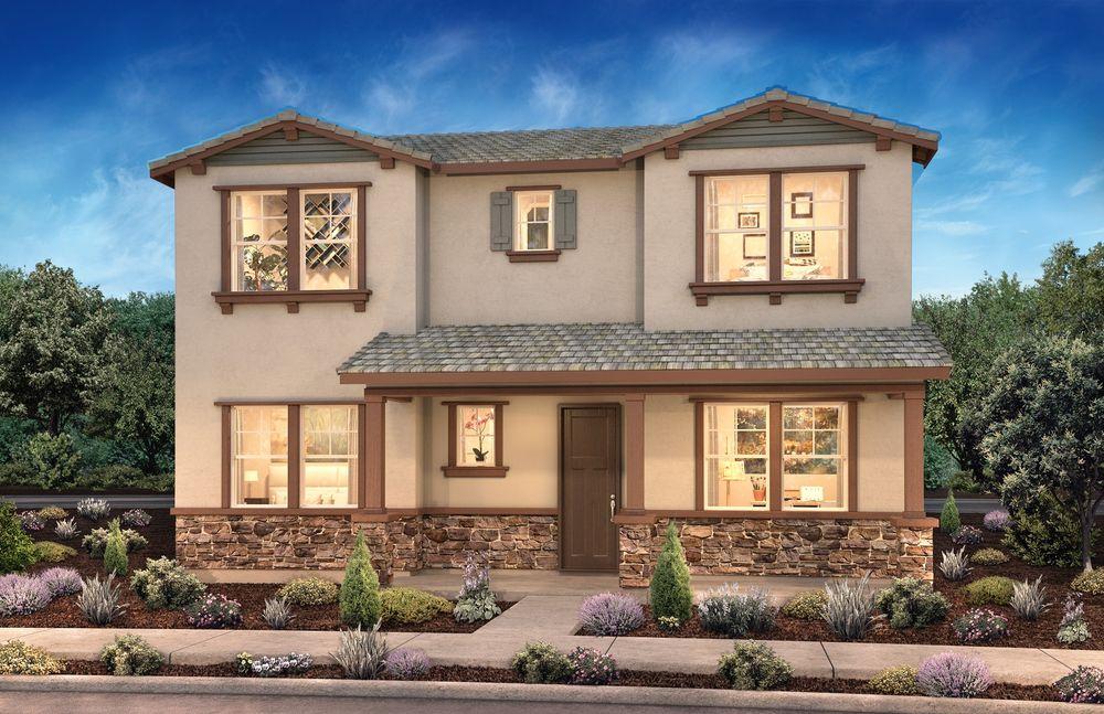 Prescott Mountain House Rendering