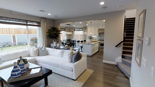 Greatroom-and-Dining-in-Plan 3-at-The Dunes - Beach House-in-Marina